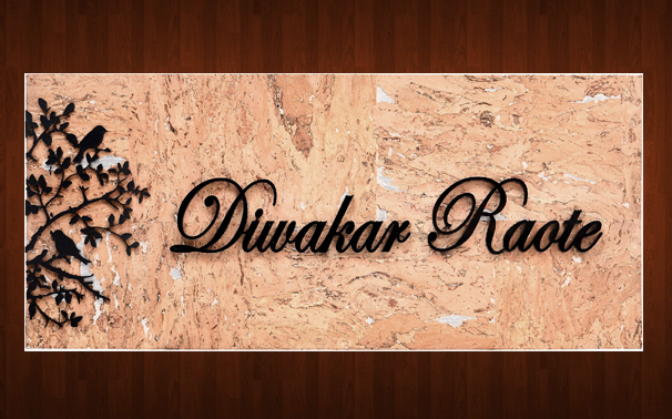 Designer Name Plate Makers In Thane West Sanghvi Arts Call