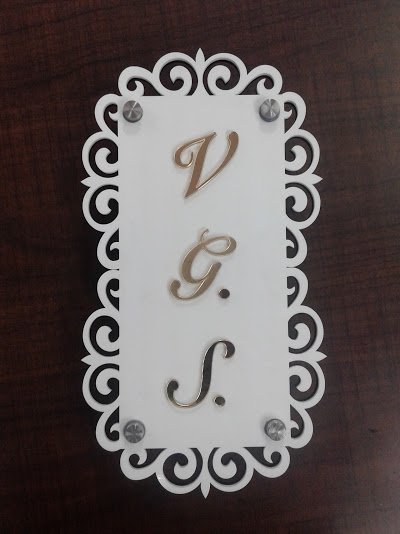 Decorative Name Plate Maker